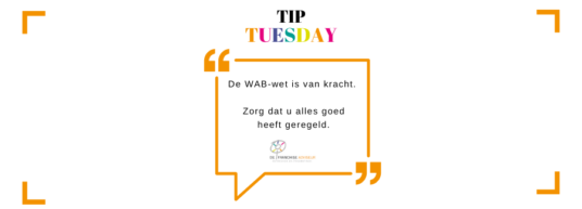 Tip Tuesday WAB wet